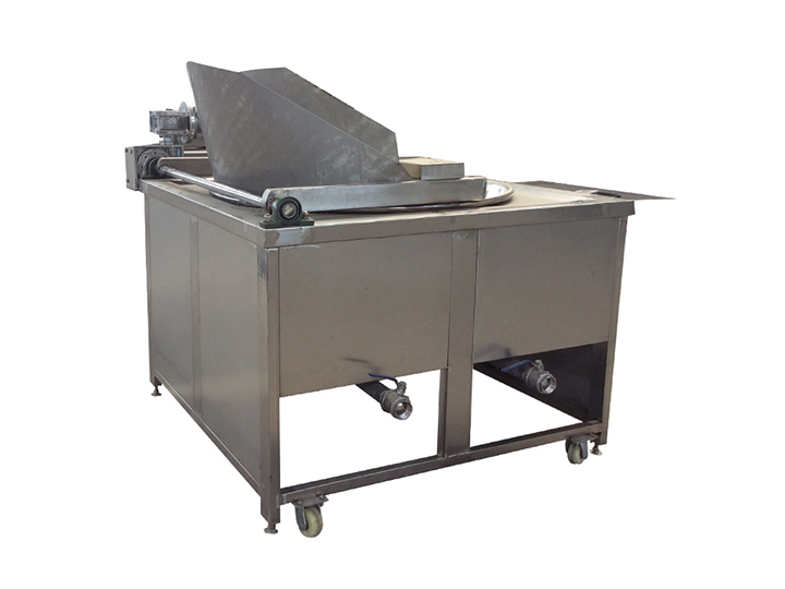 automatic discharging batch fryer for sale