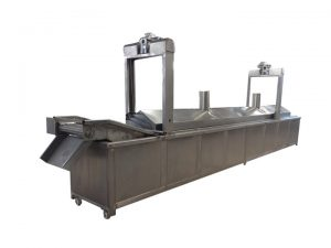 large continuous frying machine for sale
