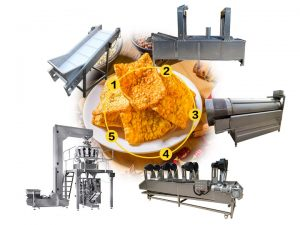 Buckwheat crackers production line for sale