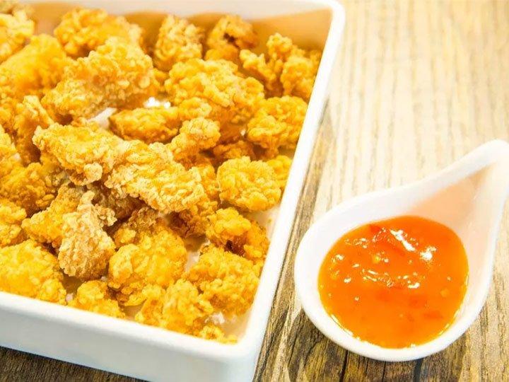 KFC flavored popcorn chicken