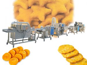 automatic fried patty production line for sale