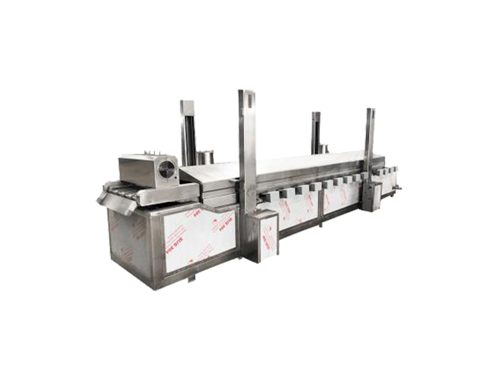 continuous frying machine