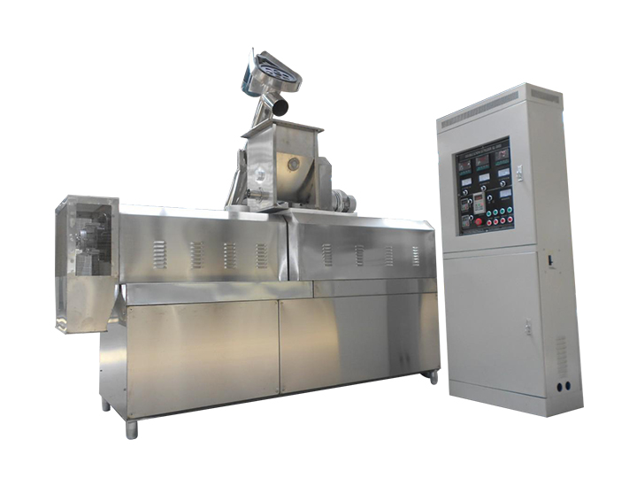 puff snack extruder machine