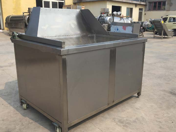 automatic pea fryer machine for Russia