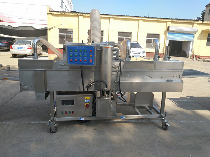 food batter machine in Taizy factory
