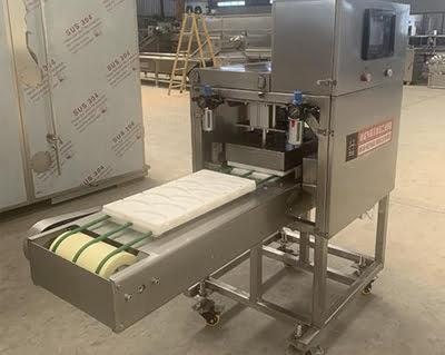 chicken fillet forming machine