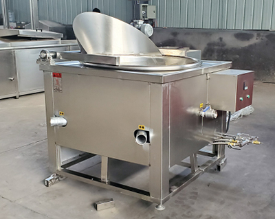 onion ring frying machine for shipping to South Africa