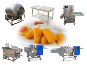 crispy chicken fillet production line for sale
