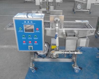 paste battering machine