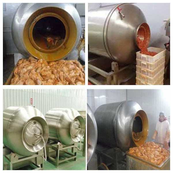 application of vacuum tumbler for meat marinating