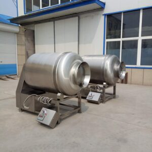 vacuum tumbler for meat marinating