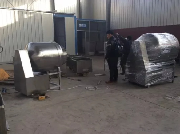 vacuum tumbler marinator in factory