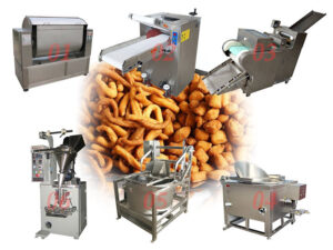 Nigeria chin chin snacks production line