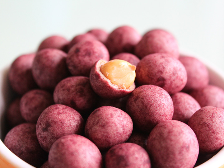 coated peanuts made by sugar-coated production line