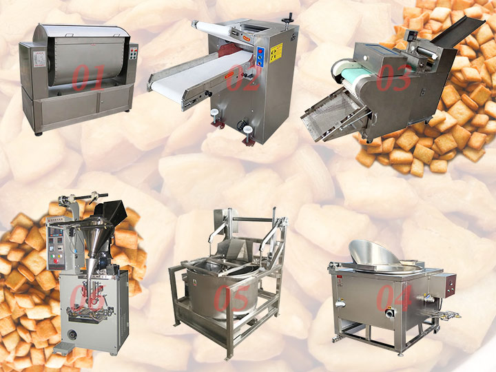 complete Nigerian chin chin production line