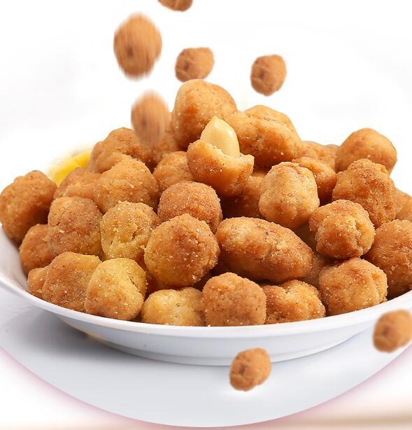 fried coated peanuts