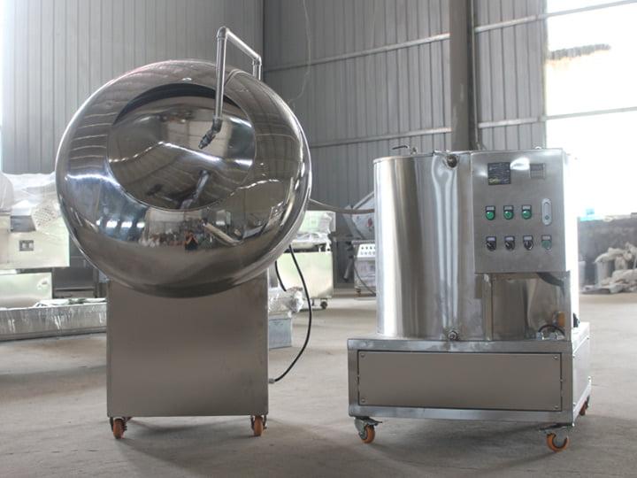 peanut coating machine
