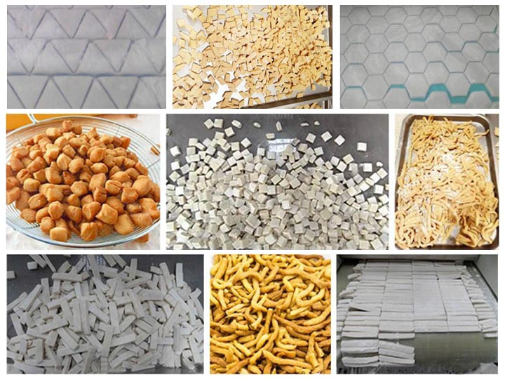 Nigerian chin chin processing