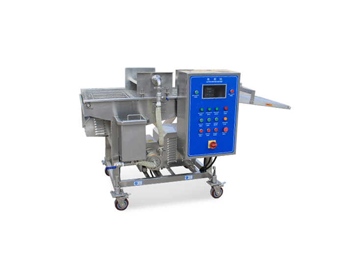 bread crumbs coating machine