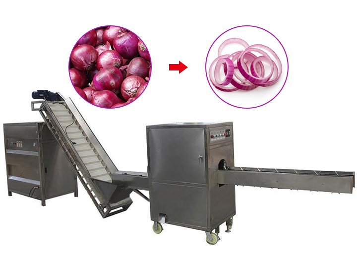commercial onion ring cutter machine for sale