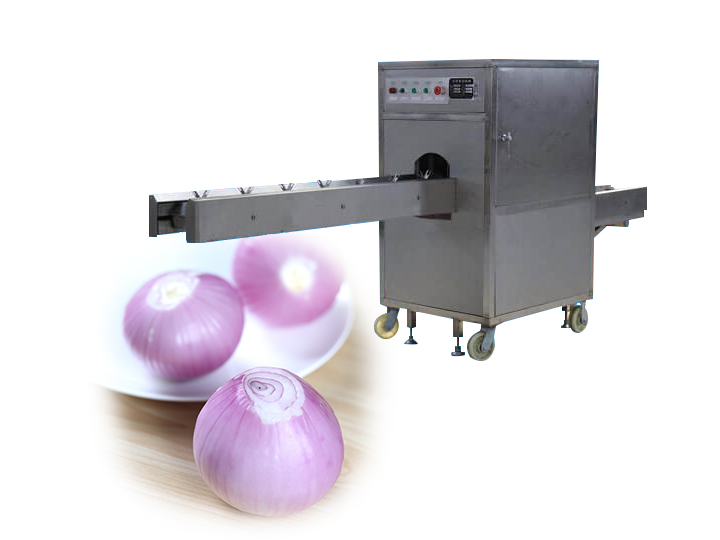 electric onion root cutting machine