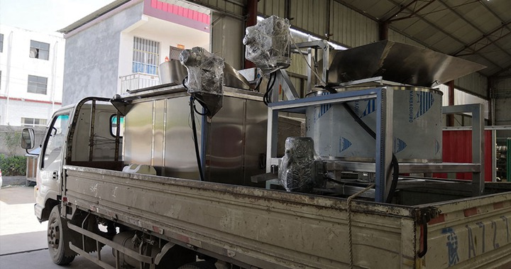 round fryer machine for shipping to Singapore