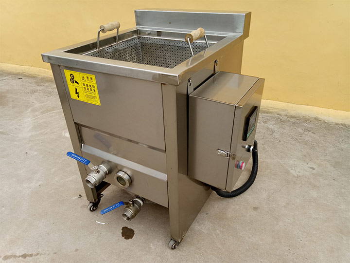small batch fryer machine