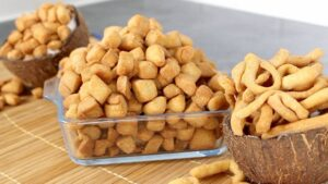 Nigerian chin chin snack processing