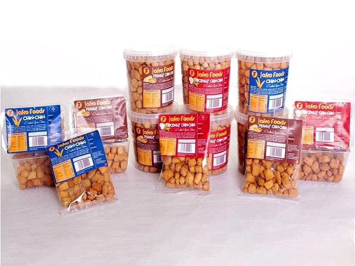 Nigeria chin chin snacks