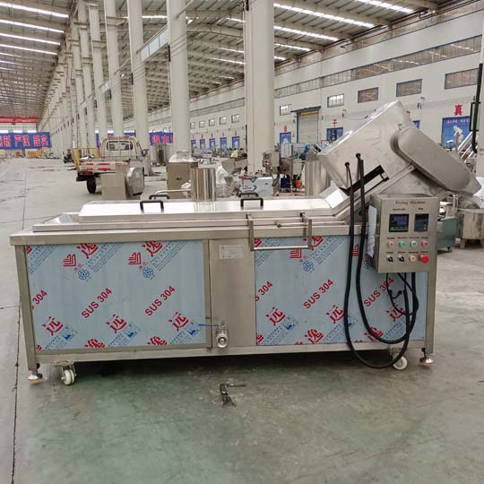 commercial gas heating fryer