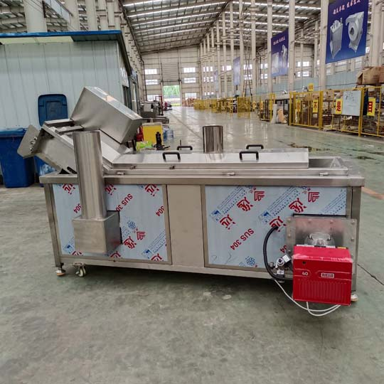 gas-heated fryer machine factory of Taizy