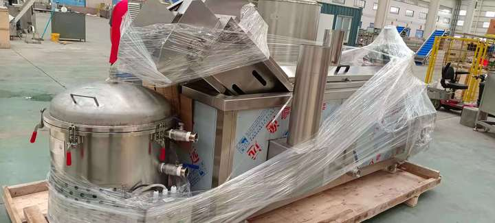 packaging for food frying machine